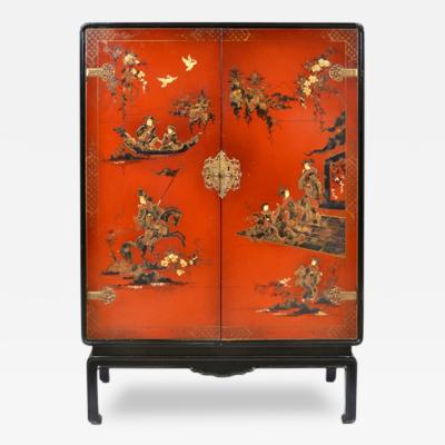 Chinoiserie Bar Cabinet France 1920 S