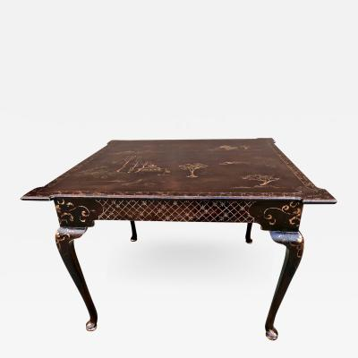 Chinoiserie Games Table
