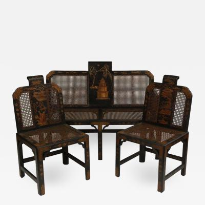 Chinoiserie Seating Suite