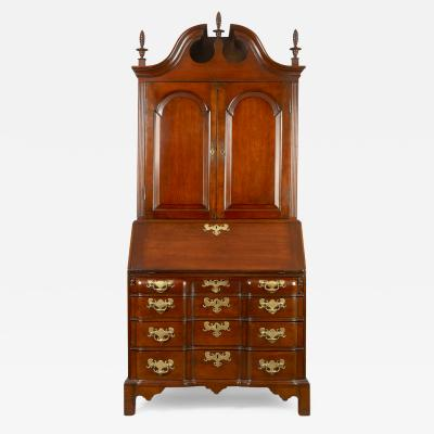 Chippendale Blocked Front Secretary