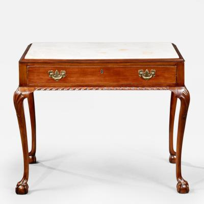 Chippendale Marble Top Mixing Table