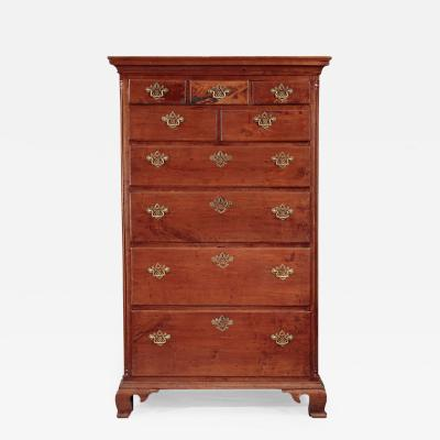 Chippendale Tall Chest of Drawers