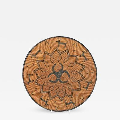 Chiricahua Apache figural tray