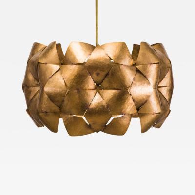 Chris Rucker Chris Rucker Hammered Bronze Pendant Light USA 2017