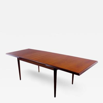 Christensen Aage Schmidt Danish Modern Teak Dining Table Designed by Christensen Aage Schmidt