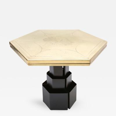 Christian Aime Heckscher Christian Heckscher Hexagonal Table