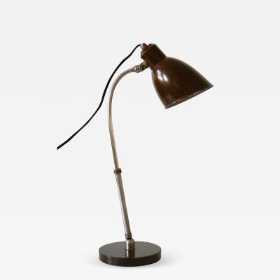 Christian Dell Rare Bauhaus Table Lamp Piccolo by Christian Dell for B nte Remmler 1930s