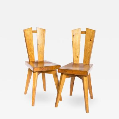 Christian Durupt Chairs Christian Durupt for Perriand Circa 1960