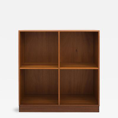 Christian Hvidt Bookcase in Solid Mahogany