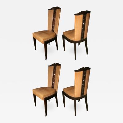 Christian Krass Set of 7 Art Deco Chairs by CHRISTIAN KRASS