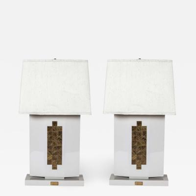 Christian Krekels Pair of table lamps by Christian Krekels
