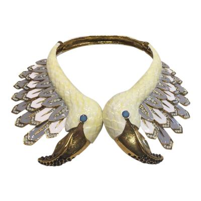 Christian Lacroix Christian Lacroix Swan Runway Necklace