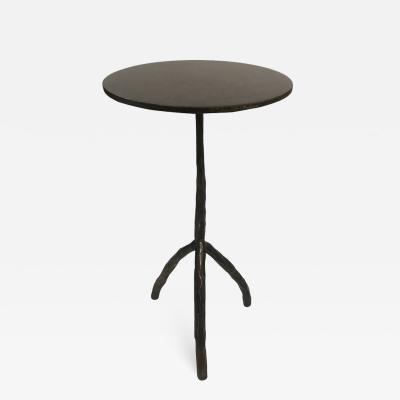 Christian Liaigre Patinated bronze sculptural cocktail table in the Liaigre style