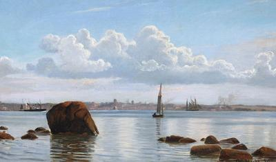 Christian Vigilius Blache Coastal View