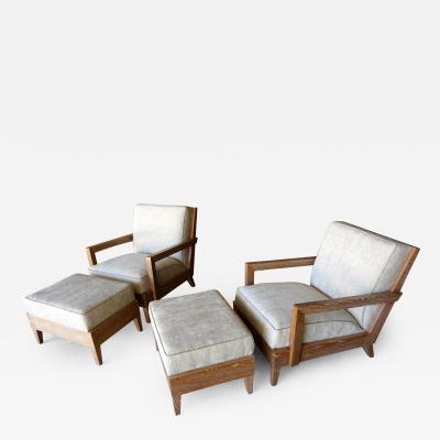 Christopher Anthony Ltd The Las Palmas Chair and Ottoman by Christopher Anthony Ltd