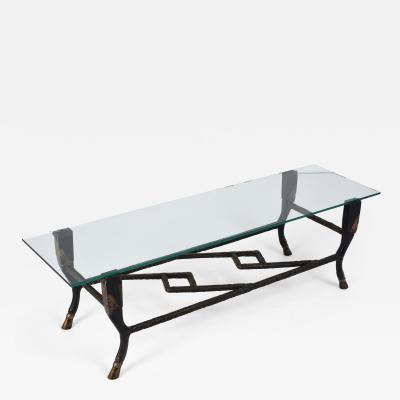 Christopher Chodoff Mid Century Modern Coffee Table by Christopher Chodoff