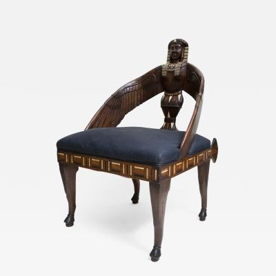 Christopher Dresser Egyptian Revival Armchair