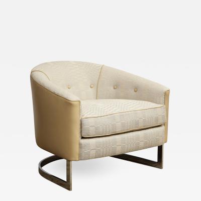 Chrome Club Chair
