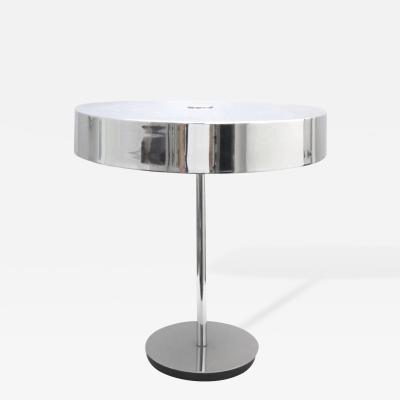 Chrome Italian Tabletop Lamp