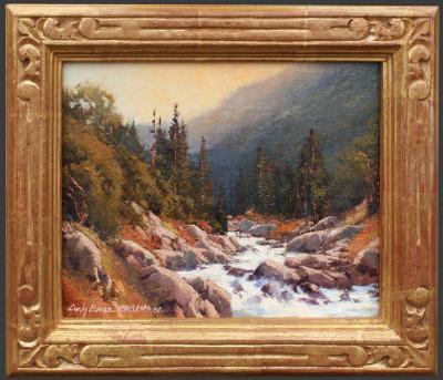 Cindy Baron Along the Merced Yosemite