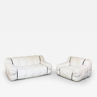 Cini Boeri Strips model living room set by Cini Boeri for Arflex 1970s