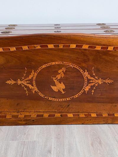 Circa 1780 Spanish Inlaid Chest
