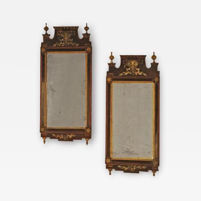 Circa 1790 Danish Mirrors Ex Anthony Hail A Pair
