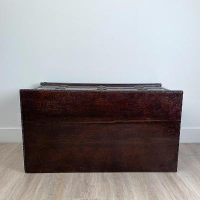 Circa 1790 Danish Neoclassical Oak Chest