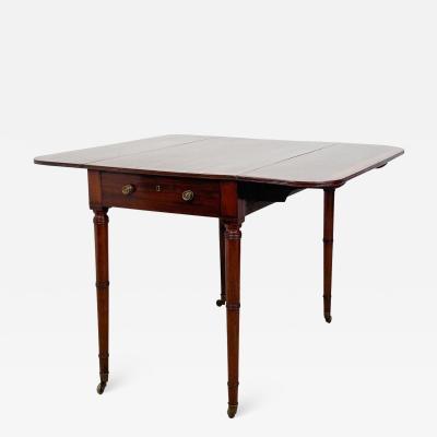Circa 1790 George III Period Pembroke Table England
