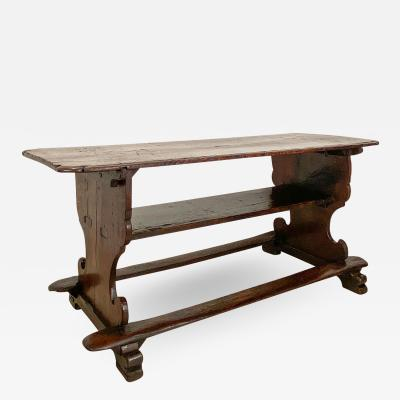 Circa 17th Century Tavern Table Spain