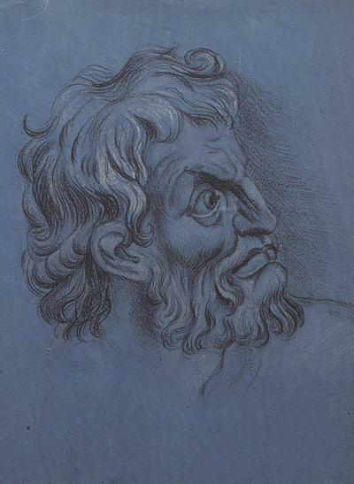 Circa 1800 Baroque Portrait of a Gentleman Italy