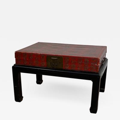 Circa 1820 Chinese Box on Stand China
