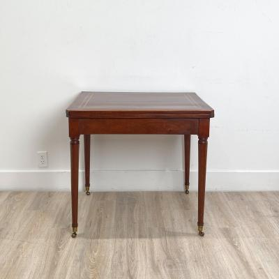 Circa 1830 French Cherry Game Table