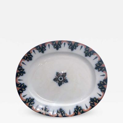 Circa 1830 Ironstone Platter England