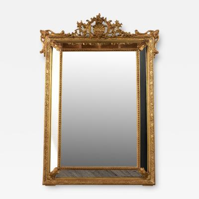 Circa 1870s French Louis XVI Style Mirror