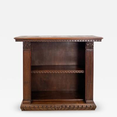Circa 1900 Baroque Style Bookcase Italy