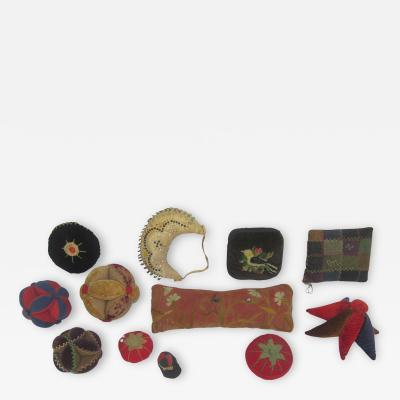Circa 1900 Pin Cushion Collection
