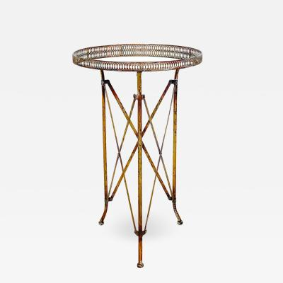 Circa 1920 Directoire Style Round Table France
