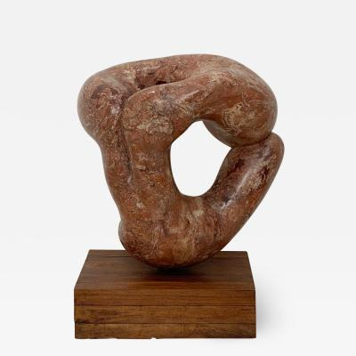 Circa 1950 South East Asian Stone Figural Sculpture
