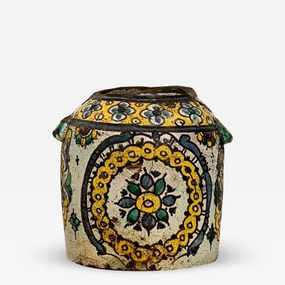 Circa 19th Century Butter Jar Morocco