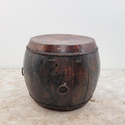 Circa 19th Century Chinese Painted Drum