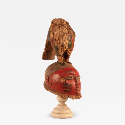 Circa 19th Century Igbo Dance Mask Nigeria