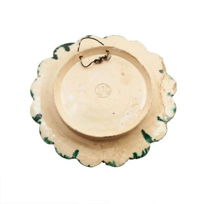 Circa 19th Century Palissy Plate 1 France