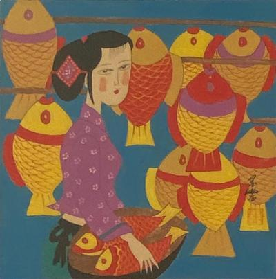 Circa 2000 Contemporary Chinese Print
