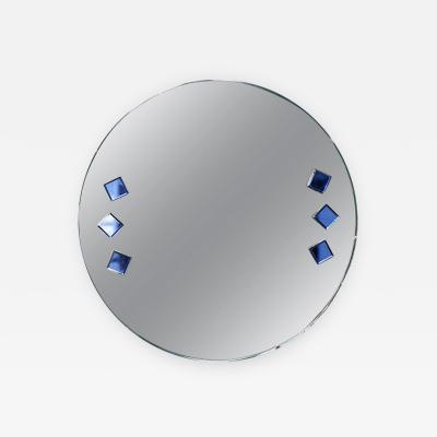 Circular Art Deco Mirror