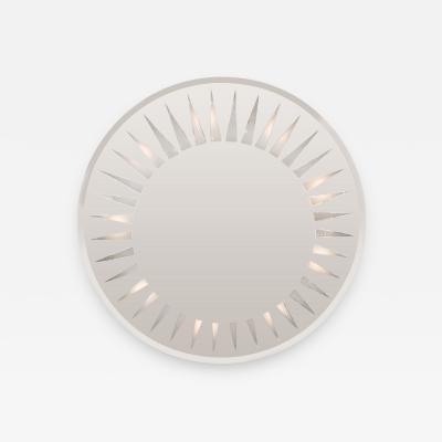 Circular Back Lit Mirror