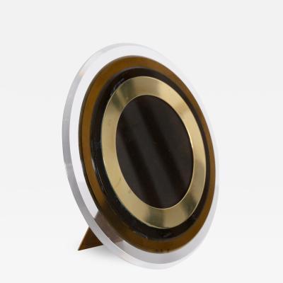 Circular Christian Dior photo frame