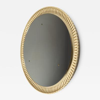 Circular Illuminated Mirror