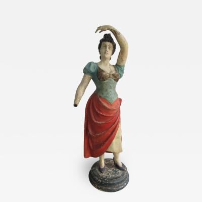 Circus Wagon Figure Dancing Lady