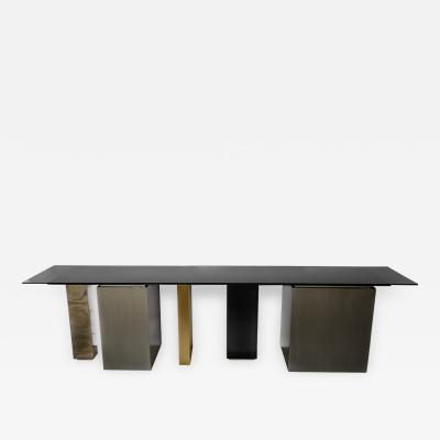 City XL Console Cabinet with glass from GAS collection
